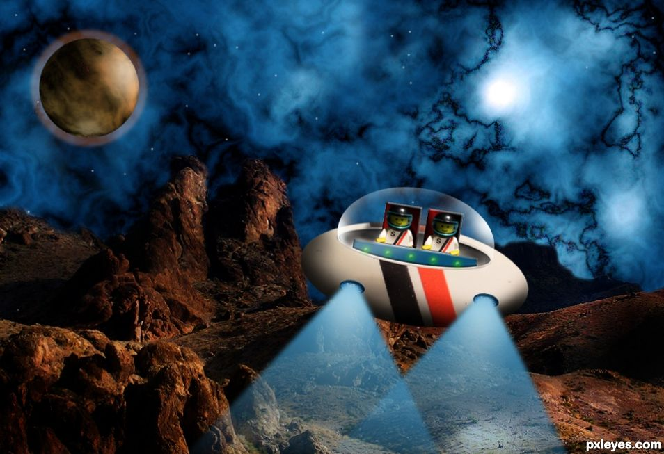 Space Rangers On Duty