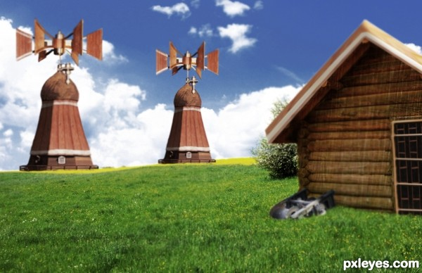 Strange Windmills