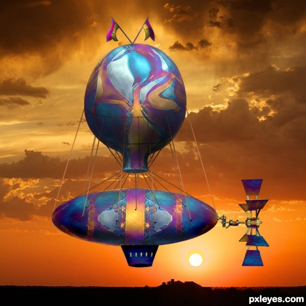 Sunset Fantasy Flight