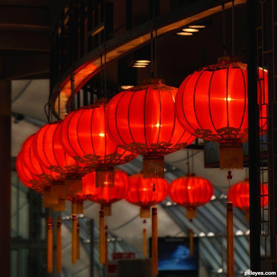 Lanterns Aglow glow