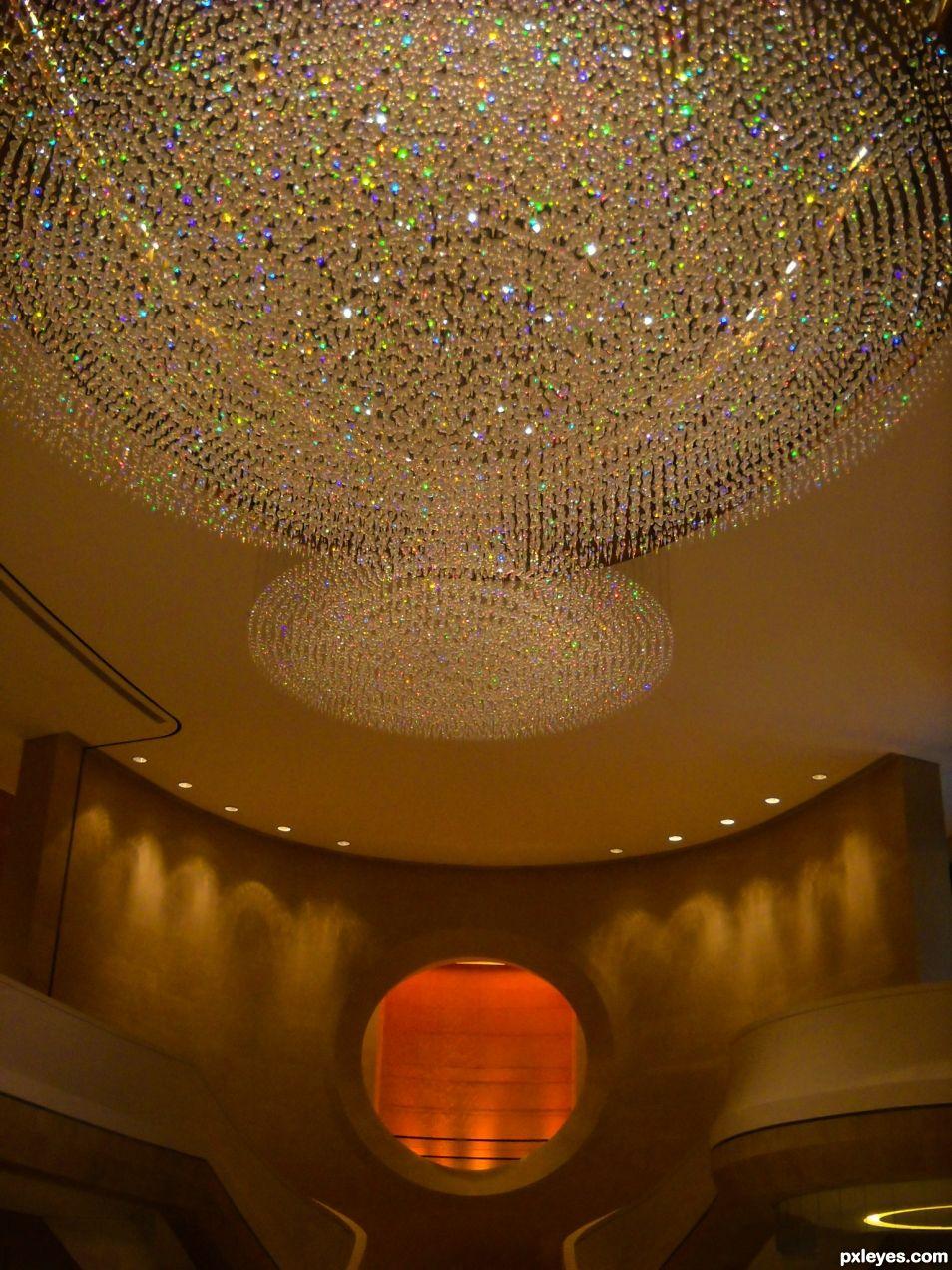 Grand hotel hall