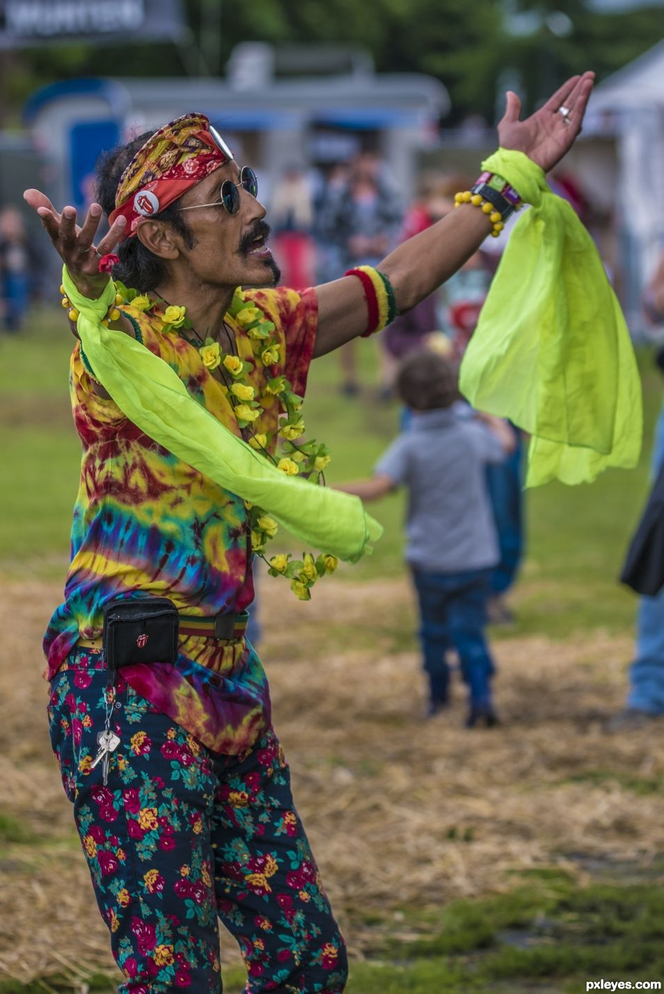 Dance of the hippie