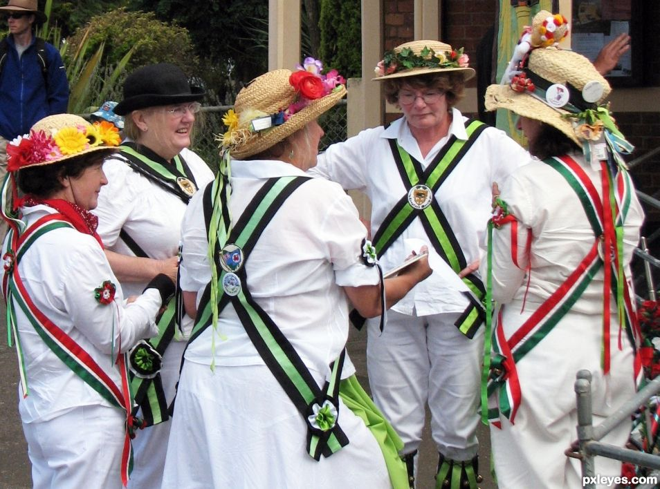 Entry number 107707Morris Dancers, Tasmania