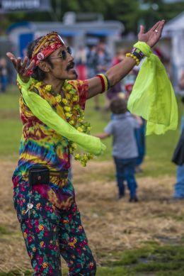 Dance of the hippie