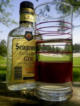 Booze bottle