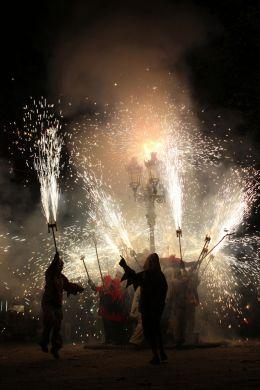 Entry number 106000 Fireworks, Festival of St John, Barcelona