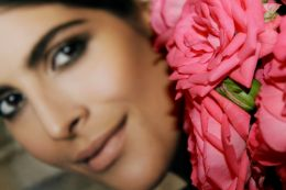 Face and Flowers