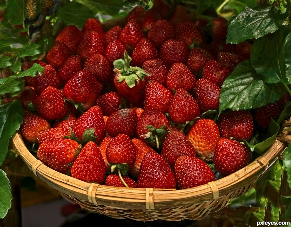 Scintillating, Scrumptious, Sumptuous, Sensational - Strawberries