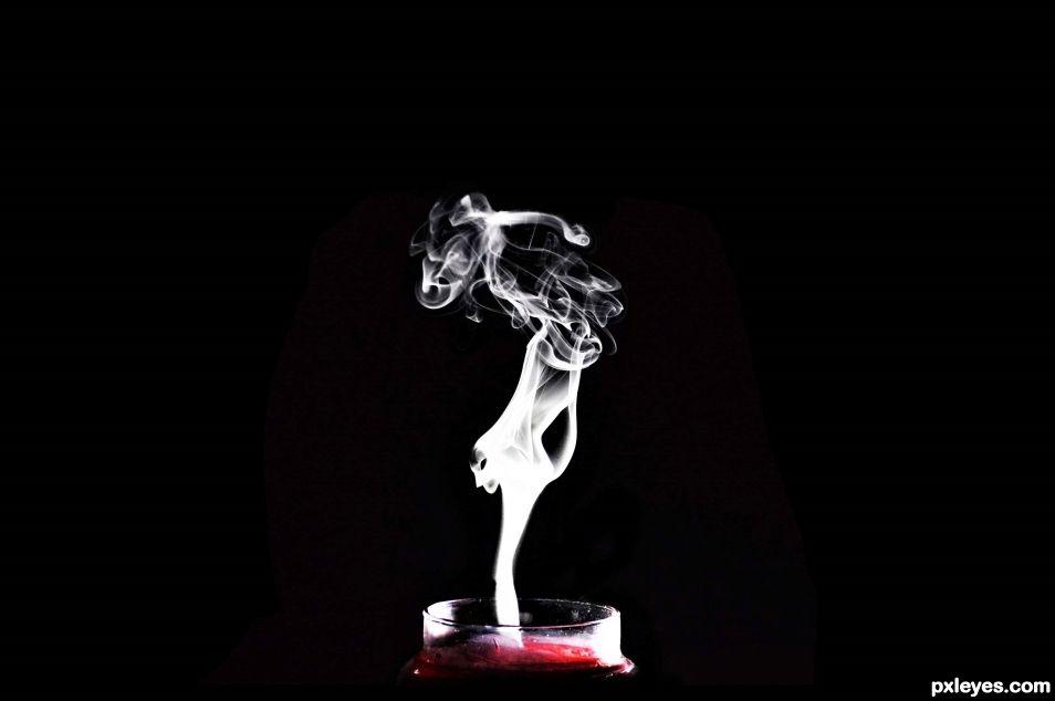 Swirling Smoke...
