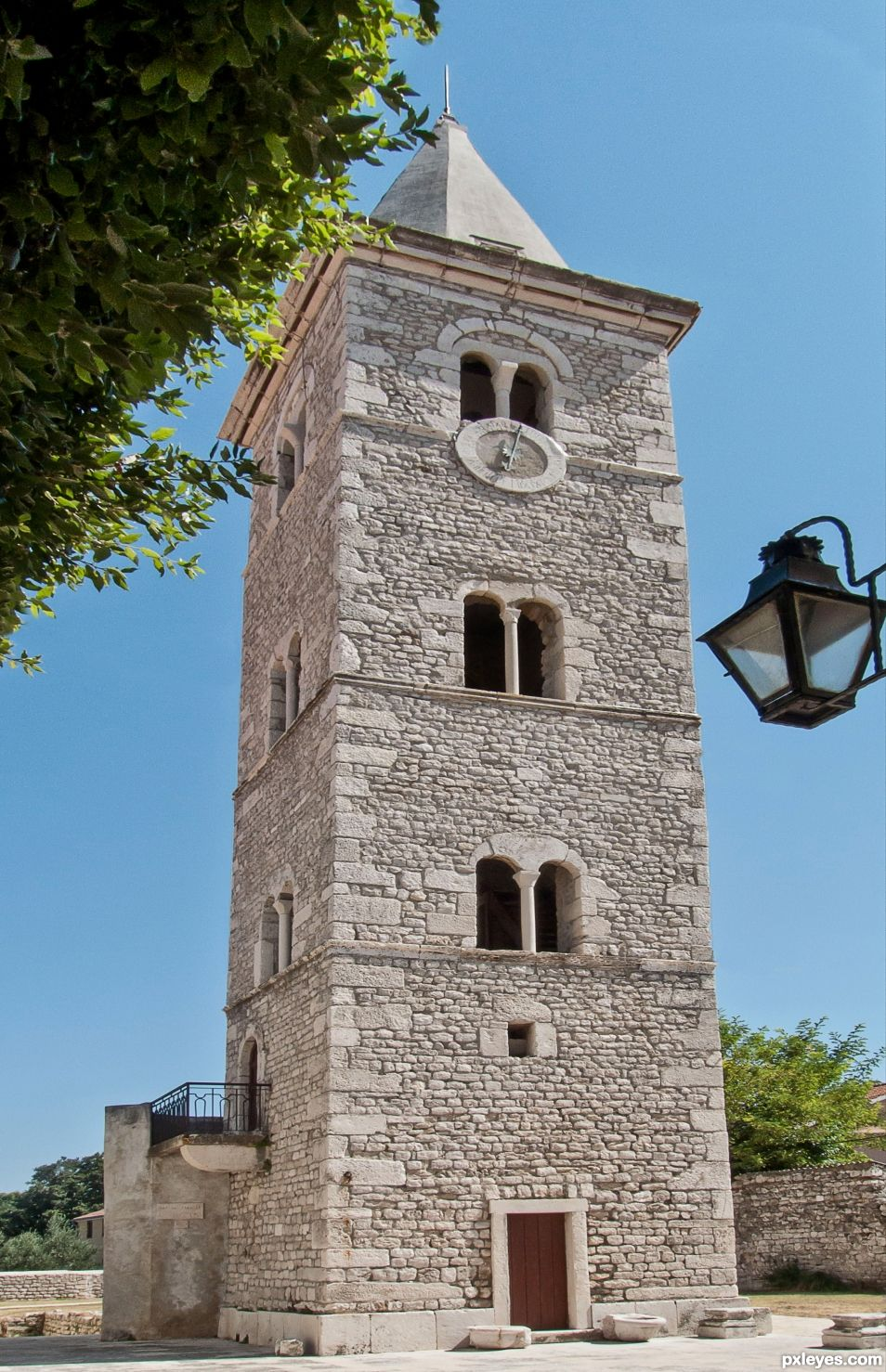 6th century tower
