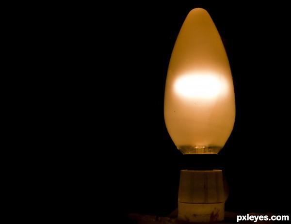 Lit light