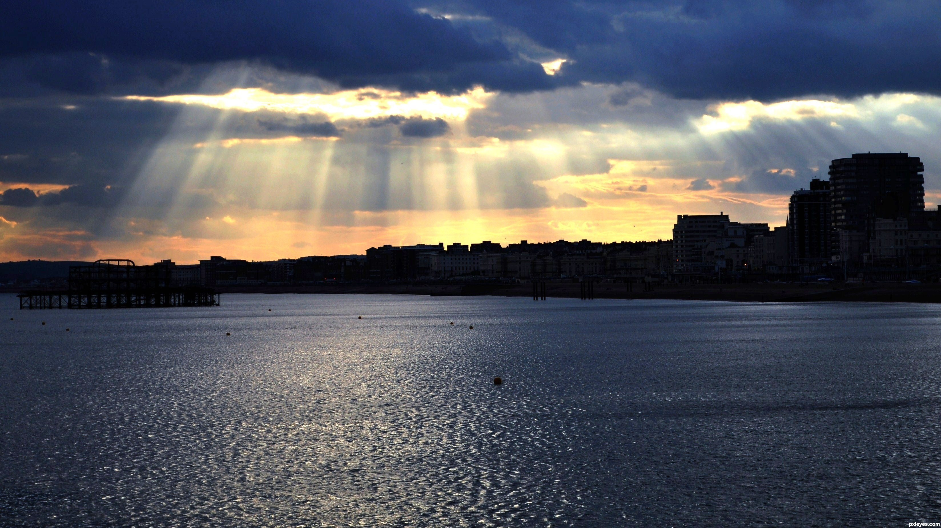 Ray of sunshine picture, by dato_t for: light rays 2
