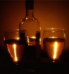 candlelit vino..........