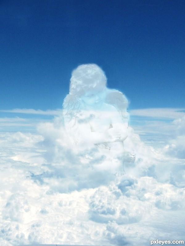 little angel in the sky