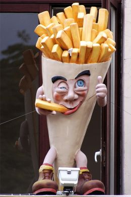 French fries ...