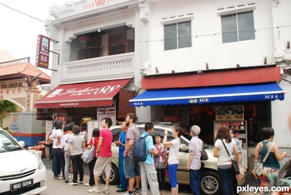 famous food at melaka & q