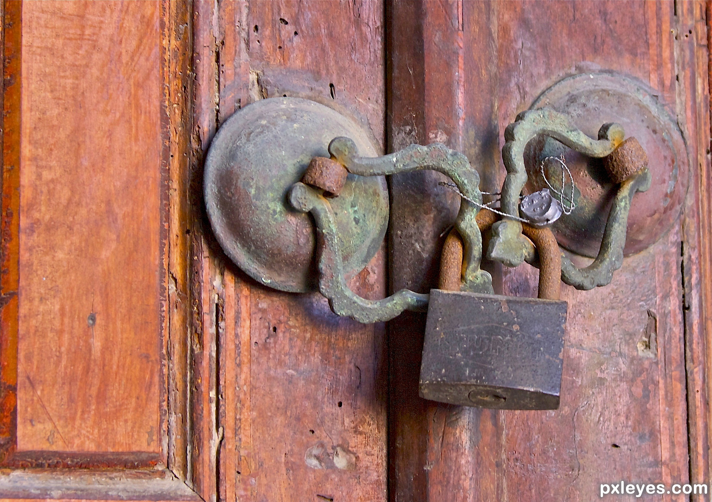 old locked lock picture by janoogee for locks and keys photography