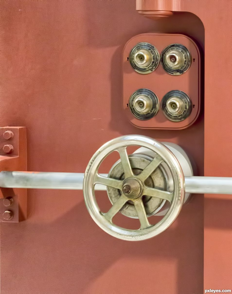 A serious lock