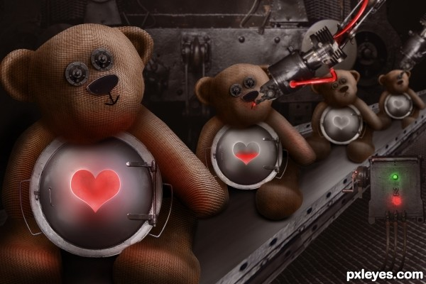 Bear Factory photoshop picture