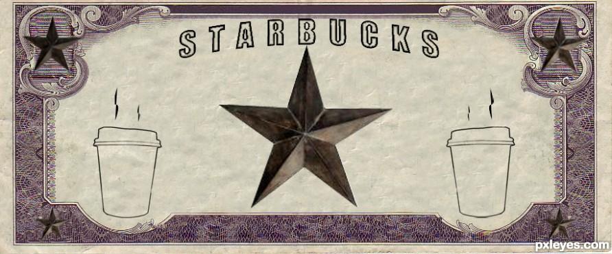 Starbucks Logo Remix