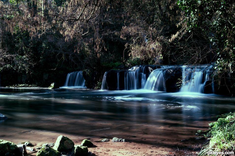 Montegelato Waterfalls