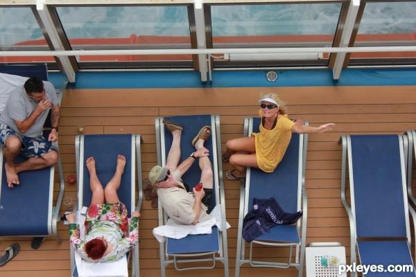 cruse ship balcony sex