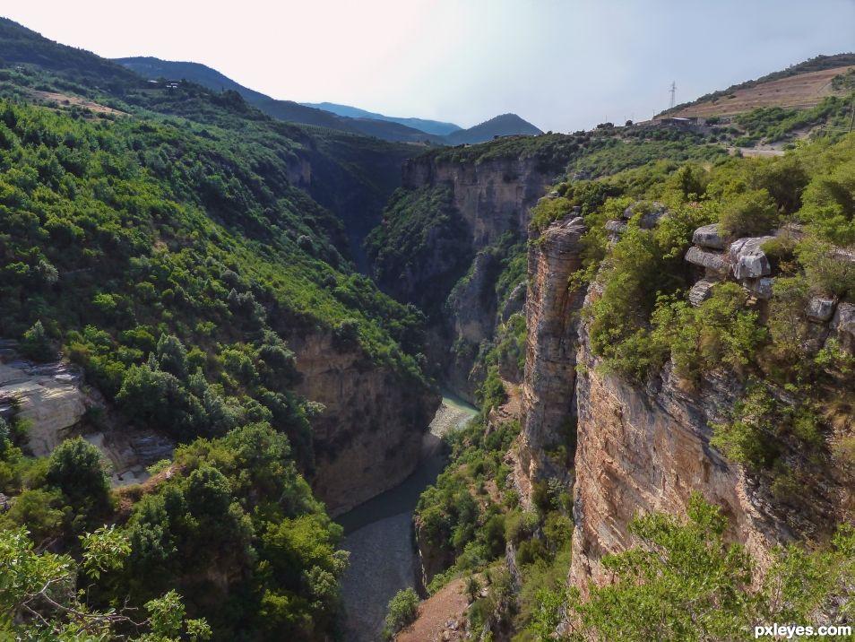 Osum canyon