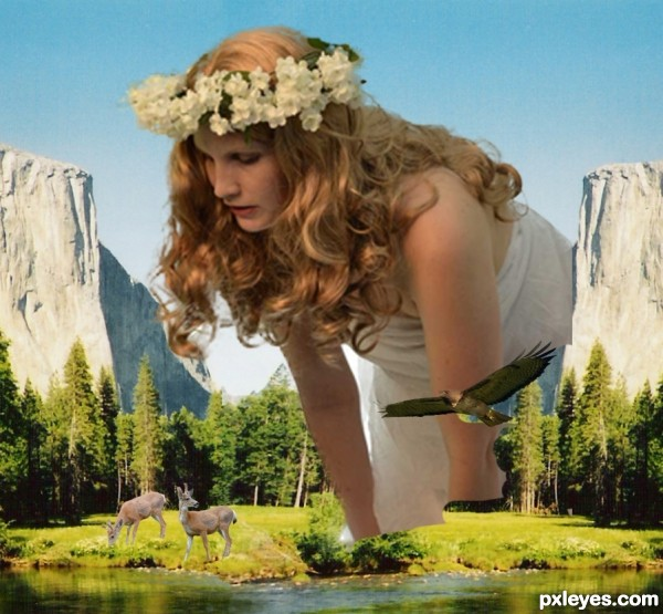 photoshop guide   the making of mother nature   pxleyes