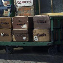 Luggageontheplatform