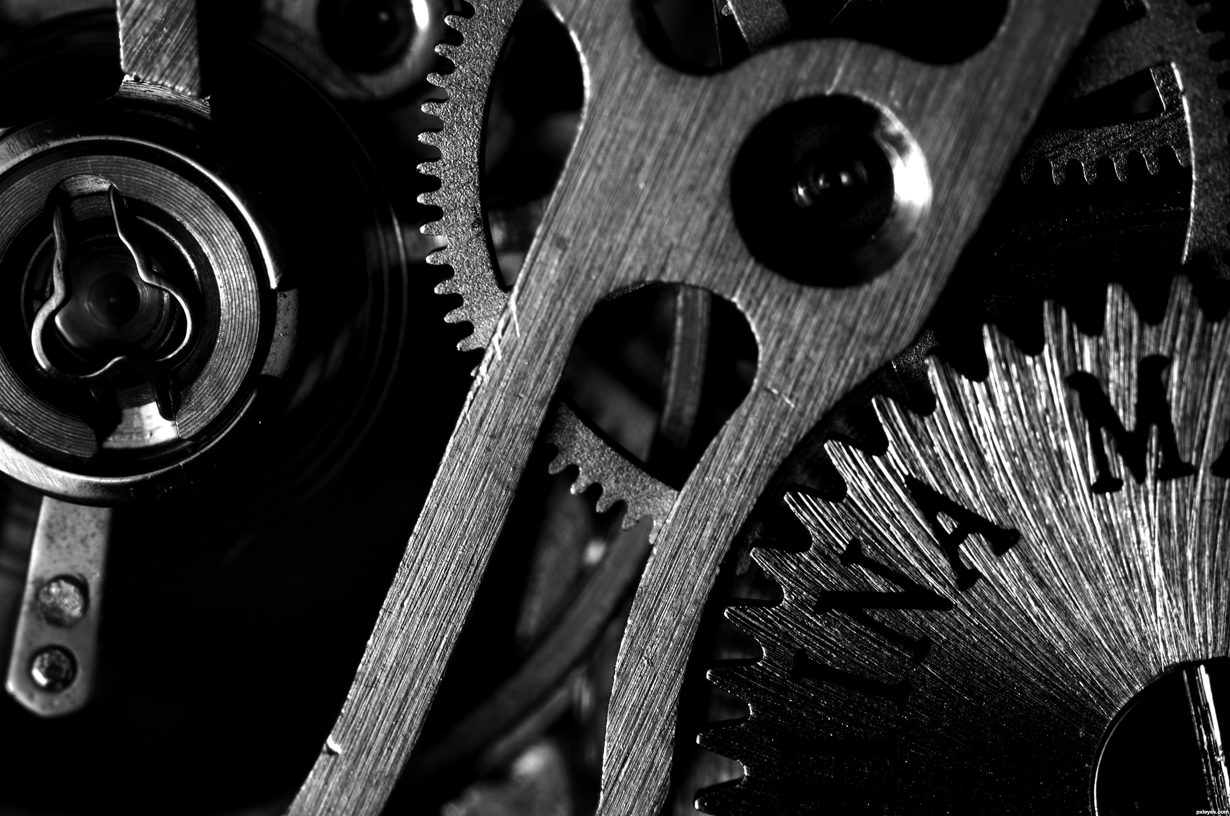 Clock Works Picture By Unclejimmy For Machine Macros 2