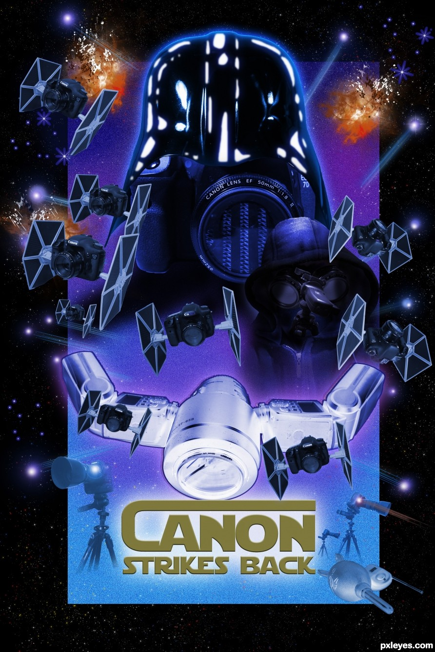 Canon Strikes Back