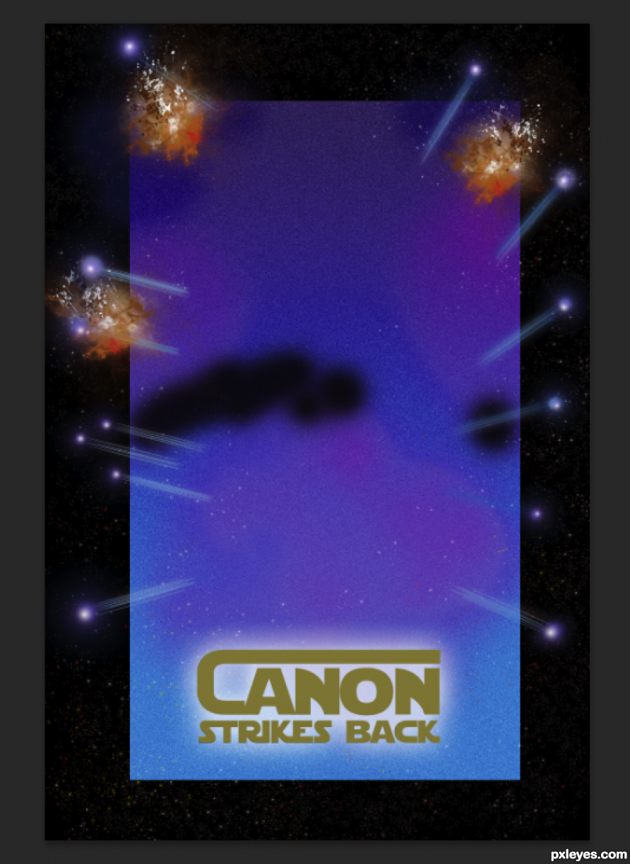 Creation of Canon Strikes Back: Step 4