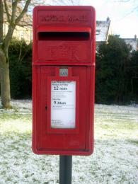 The Red Royal Mailbox