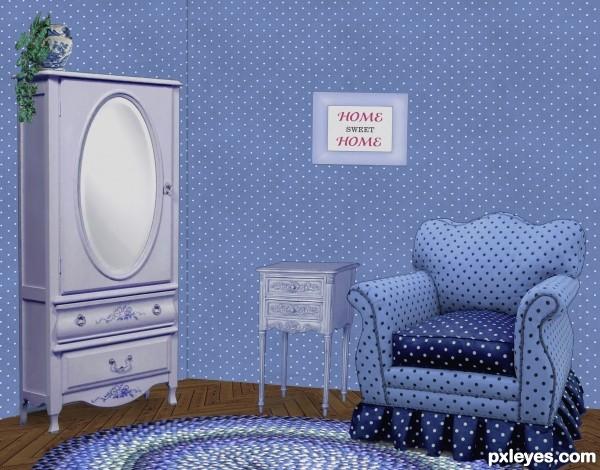The goal to make a nice room.