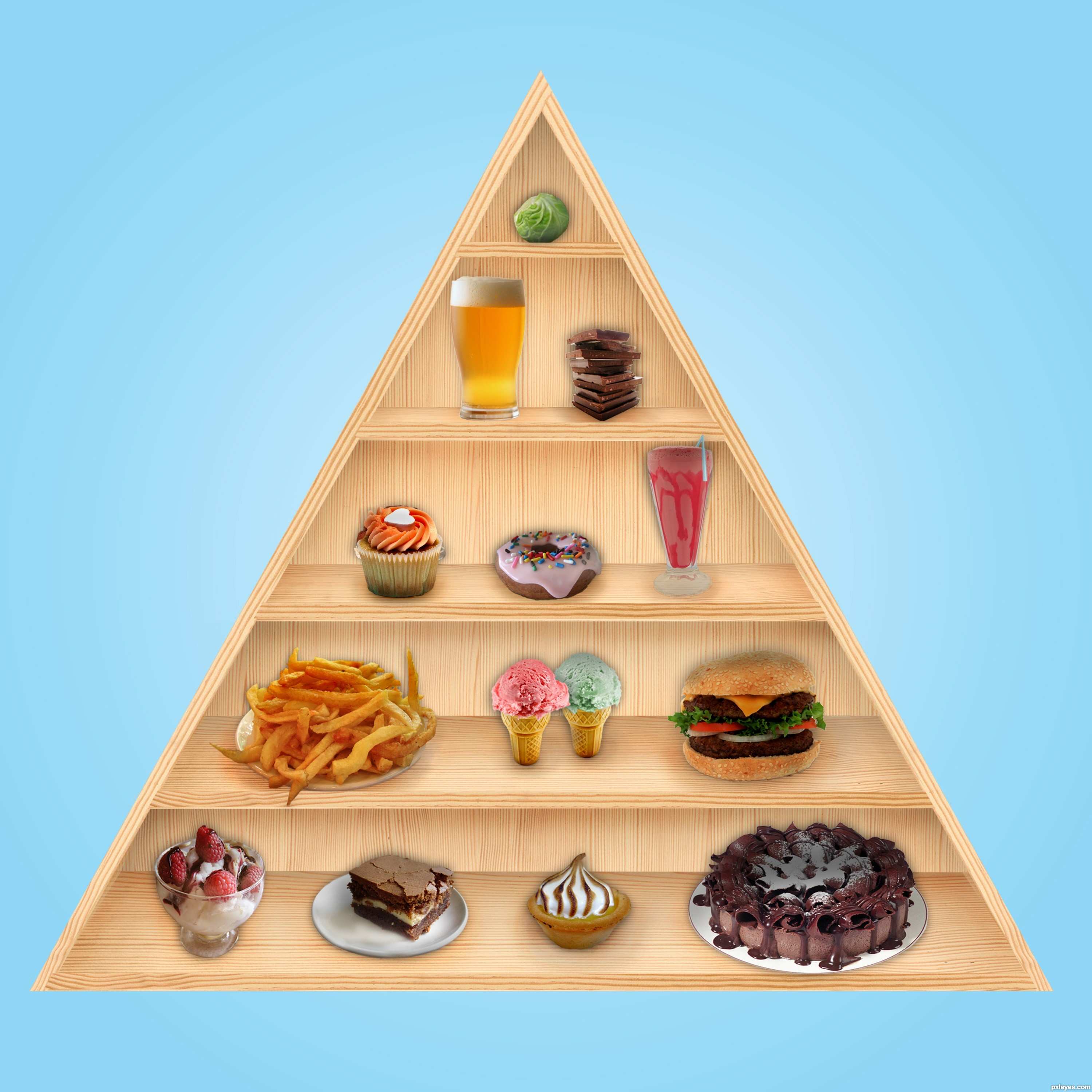 """food pyramid project Lesson 2 the food pyramid 7 """"an introduction to nutrition"""" is designed to teach opportunity to work with their families at home on several projects where."""