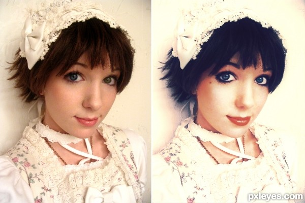 Classic Lolita makeover