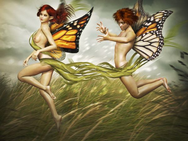 Faeries Love Game photoshop picture