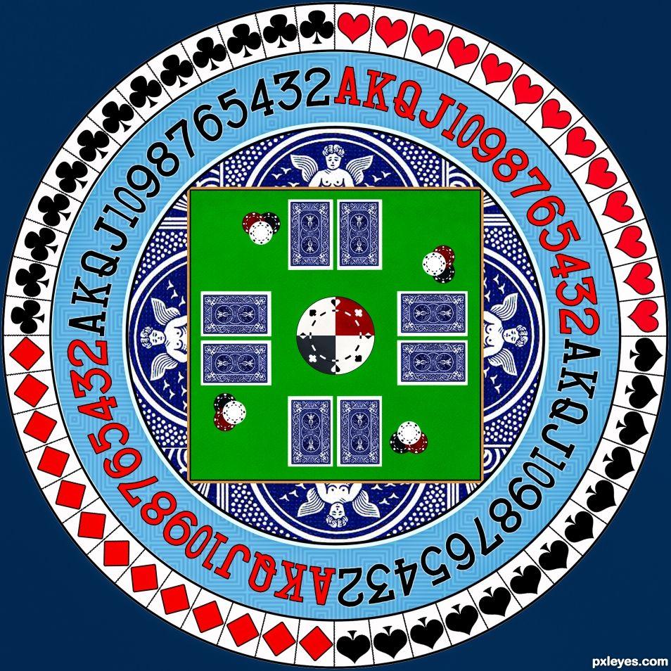 Poker Mandala