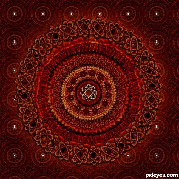 Hands Mandala