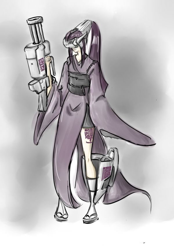 CyberKimono Girl 0.8