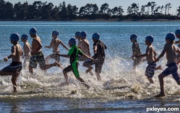 Childrens Tryathlon