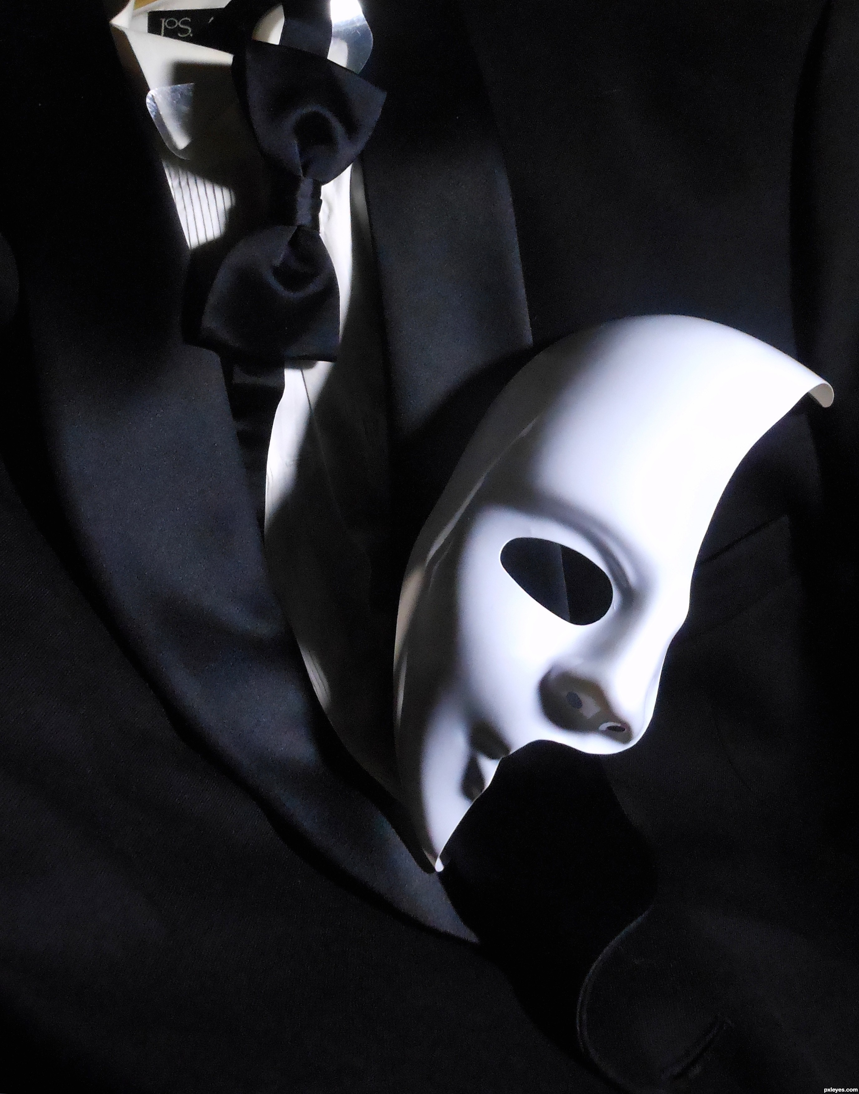 phantom of the opera mask wallpaper