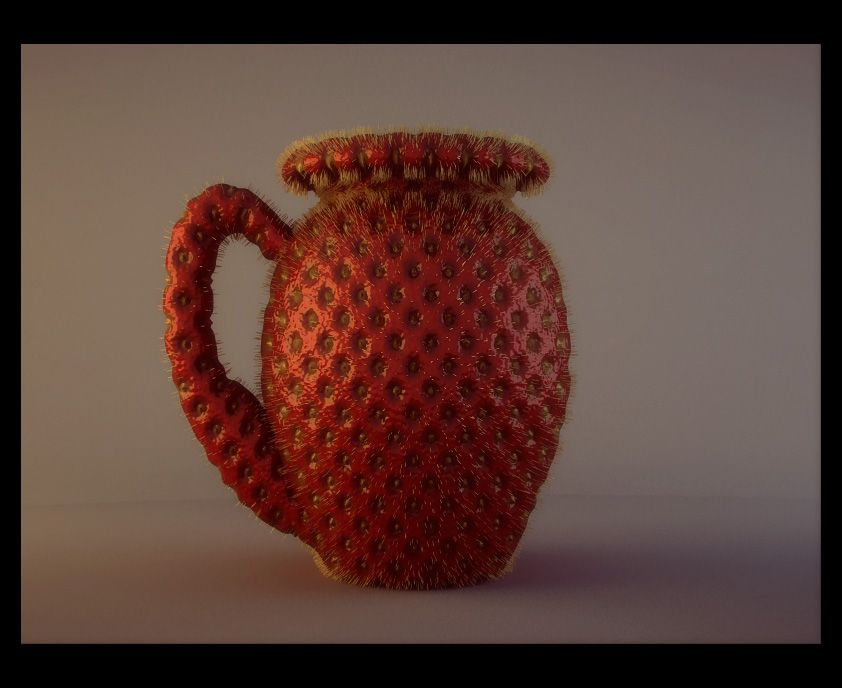 Strawberry Vase Picture By Foxymop For Material Switch 3d Contest