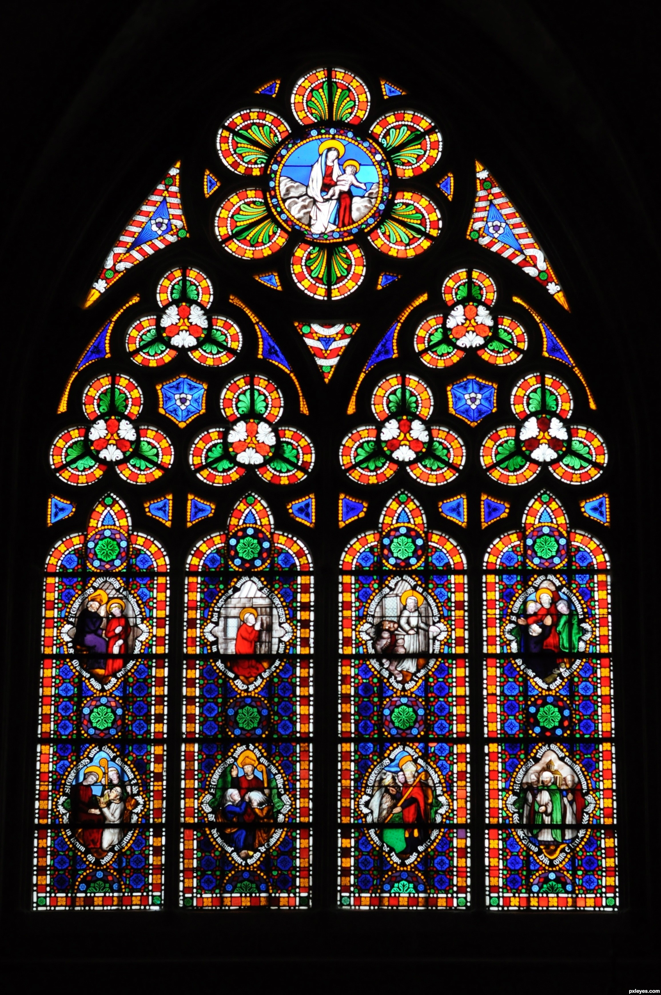 Stained Glass Windows : Glass windows fake stained window