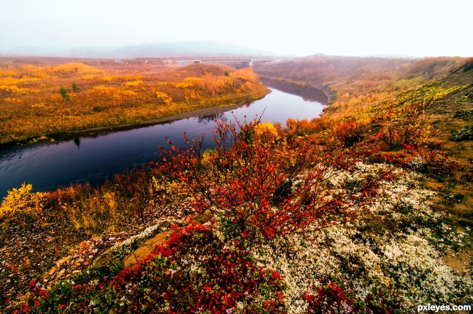 Autumn in the Arctic