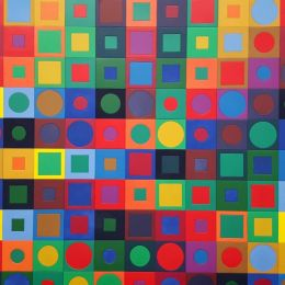 Coloured squares Picture