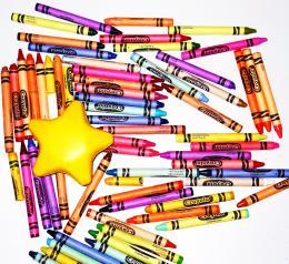 Crayonsandstar
