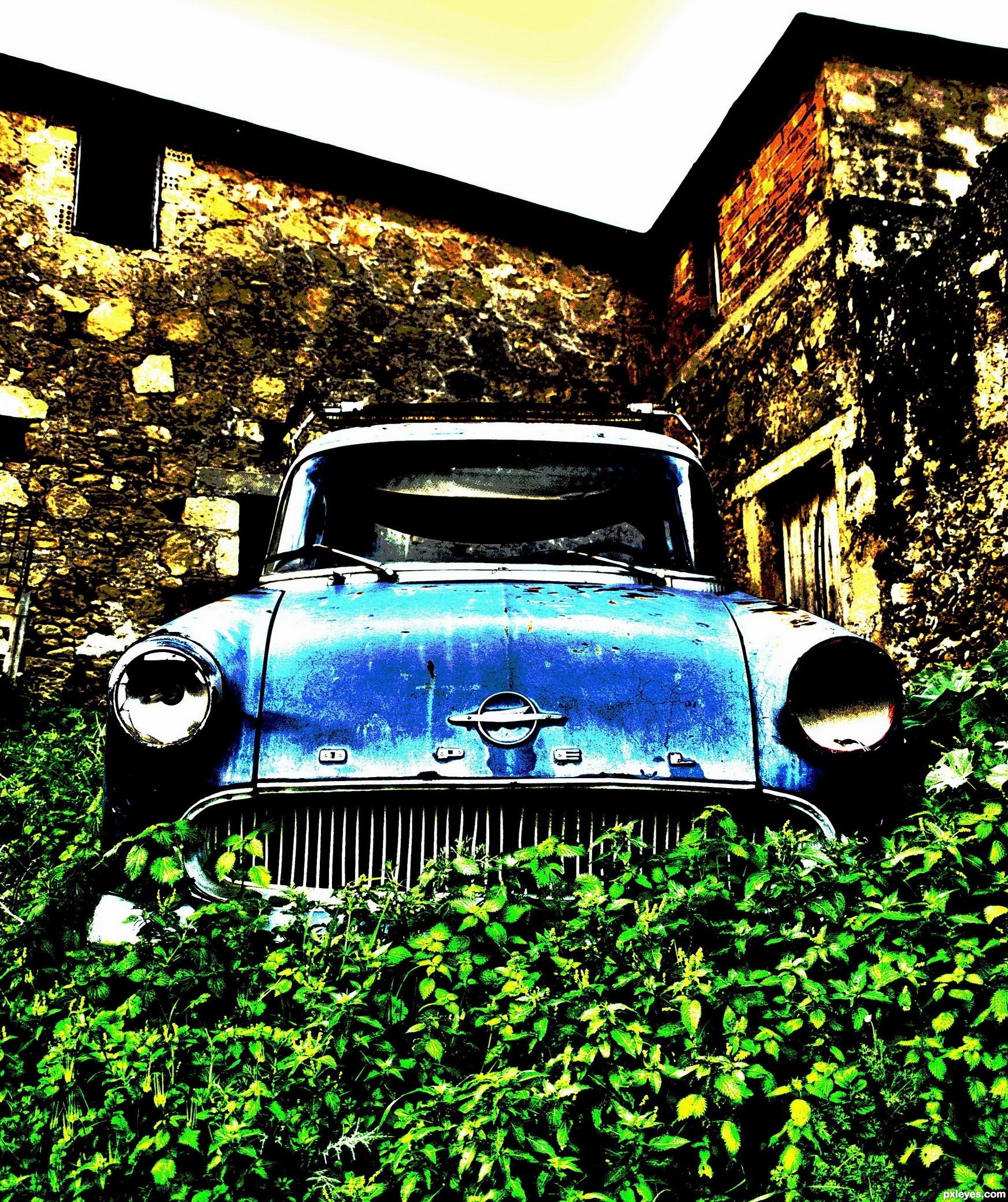 Opel Rekord P 2 -1960