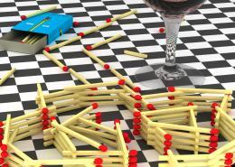Drink, spleen, matches, mazes Picture