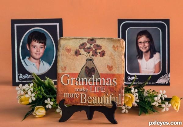 From my grandchildren